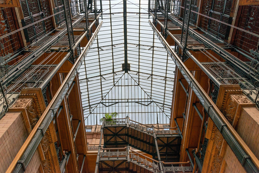 The Bradbury Building, Downtown LA