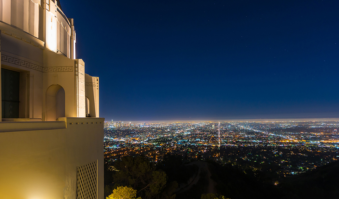 Downtown LA from Griffith Observatory